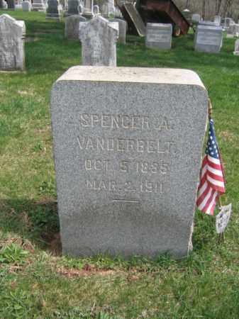 VANDERBELT, SPENCER A. - Hunterdon County, New Jersey | SPENCER A. VANDERBELT - New Jersey Gravestone Photos
