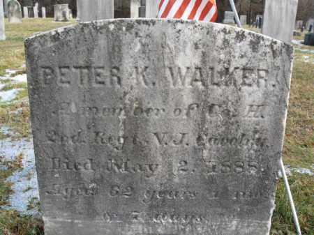WALKER, PETER K. - Hunterdon County, New Jersey | PETER K. WALKER - New Jersey Gravestone Photos