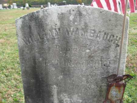 WAMBAUGH, PVT.WILLIAM - Hunterdon County, New Jersey   PVT.WILLIAM WAMBAUGH - New Jersey Gravestone Photos