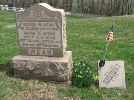 WEAN, GEORGE W. - Hunterdon County, New Jersey | GEORGE W. WEAN - New Jersey Gravestone Photos