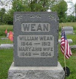 WEAN, WILLIAM - Hunterdon County, New Jersey | WILLIAM WEAN - New Jersey Gravestone Photos