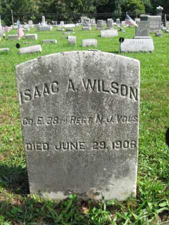 WILSON, ISAAC A. - Hunterdon County, New Jersey | ISAAC A. WILSON - New Jersey Gravestone Photos