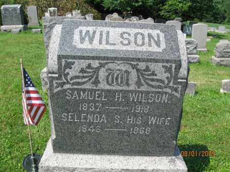 WILSON, SAMUEL H. - Hunterdon County, New Jersey   SAMUEL H. WILSON - New Jersey Gravestone Photos