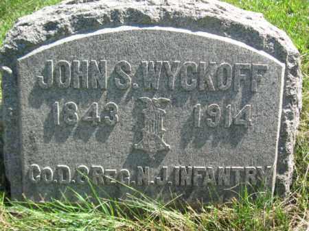 WYCKOFF, JOHN S. - Hunterdon County, New Jersey | JOHN S. WYCKOFF - New Jersey Gravestone Photos