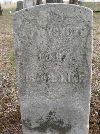 WYCKOFF, JOHN J. - Hunterdon County, New Jersey   JOHN J. WYCKOFF - New Jersey Gravestone Photos