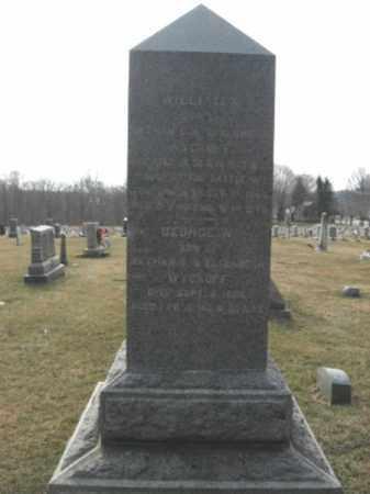 WYCKOFF, WILLIAM H. - Hunterdon County, New Jersey | WILLIAM H. WYCKOFF - New Jersey Gravestone Photos