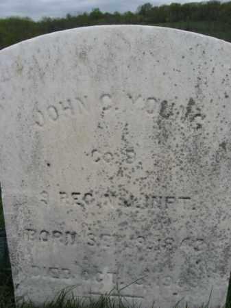 YOUNG, JOHN C. - Hunterdon County, New Jersey   JOHN C. YOUNG - New Jersey Gravestone Photos
