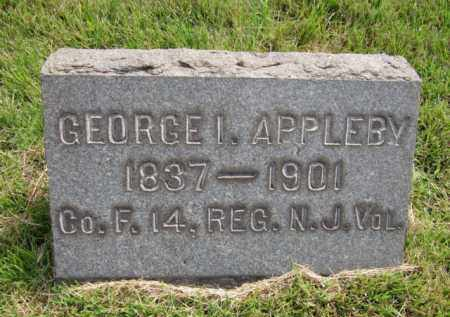 APPLEBY, GEORGE I. - Mercer County, New Jersey | GEORGE I. APPLEBY - New Jersey Gravestone Photos