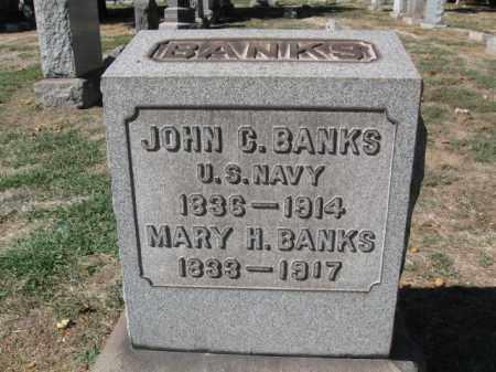 BANKS, JOHN C. - Mercer County, New Jersey | JOHN C. BANKS - New Jersey Gravestone Photos