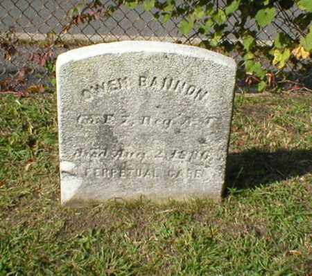 BANNON, OWEN - Mercer County, New Jersey | OWEN BANNON - New Jersey Gravestone Photos