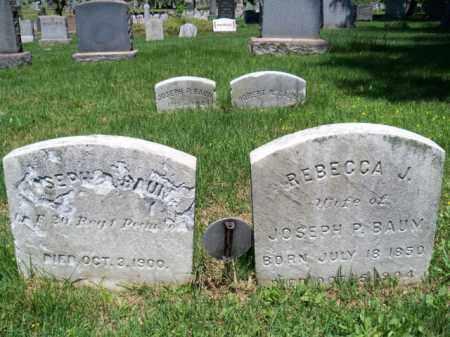 BAUM, JOSEPH P. - Mercer County, New Jersey | JOSEPH P. BAUM - New Jersey Gravestone Photos
