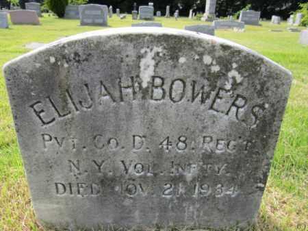 BOWERS, ELIJAH - Mercer County, New Jersey | ELIJAH BOWERS - New Jersey Gravestone Photos