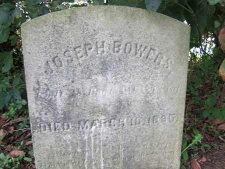 BOWERS, JOSEPH - Mercer County, New Jersey | JOSEPH BOWERS - New Jersey Gravestone Photos
