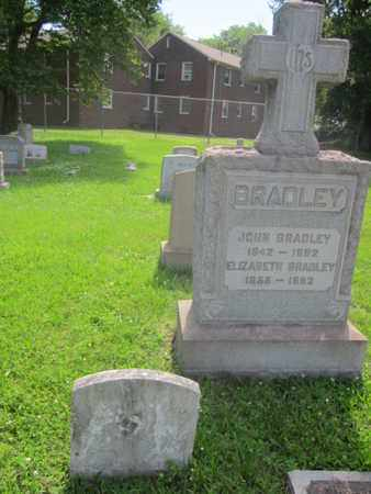 BRADLEY, JOHN - Mercer County, New Jersey | JOHN BRADLEY - New Jersey Gravestone Photos