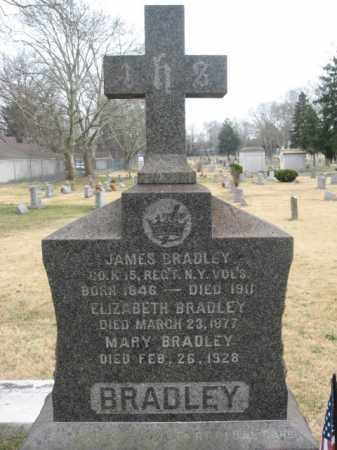 BRADLEY, JAMES - Mercer County, New Jersey | JAMES BRADLEY - New Jersey Gravestone Photos