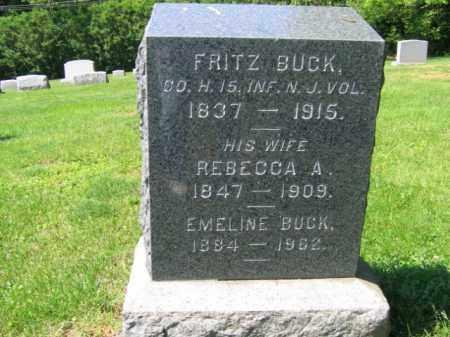 BUCK, FRITZ - Mercer County, New Jersey | FRITZ BUCK - New Jersey Gravestone Photos