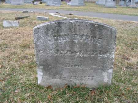 BYRNE, JOHN - Mercer County, New Jersey | JOHN BYRNE - New Jersey Gravestone Photos