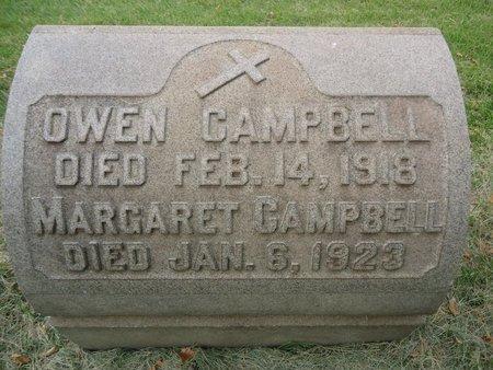 CAMPBELL, OWEN - Mercer County, New Jersey | OWEN CAMPBELL - New Jersey Gravestone Photos