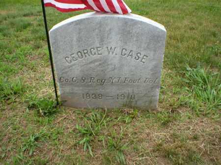 CASE, GEORGE W. - Mercer County, New Jersey | GEORGE W. CASE - New Jersey Gravestone Photos
