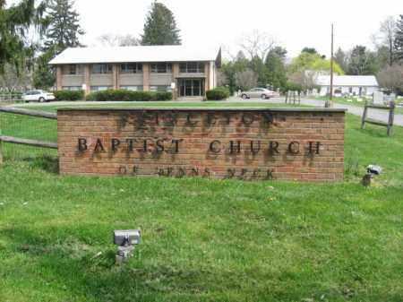 CEMETERY ENTRANCE, PRINCETON BAPTIST - Mercer County, New Jersey   PRINCETON BAPTIST CEMETERY ENTRANCE - New Jersey Gravestone Photos
