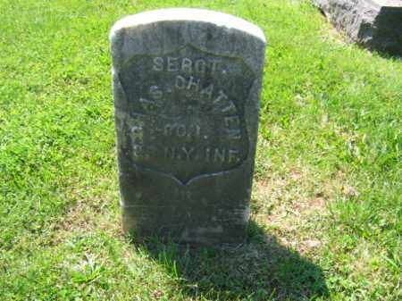 CHATTEN, SGT. CHARLES - Mercer County, New Jersey | SGT. CHARLES CHATTEN - New Jersey Gravestone Photos