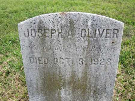 CLIVER, JOSEPH A. - Mercer County, New Jersey | JOSEPH A. CLIVER - New Jersey Gravestone Photos