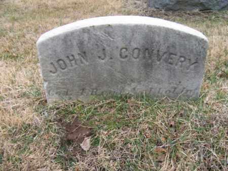 CONVERY, JOHN J. - Mercer County, New Jersey | JOHN J. CONVERY - New Jersey Gravestone Photos