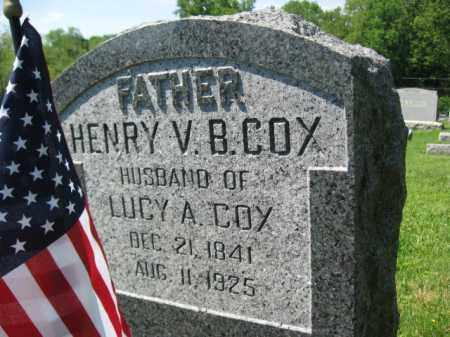 COX, HENRY V.B. - Mercer County, New Jersey | HENRY V.B. COX - New Jersey Gravestone Photos