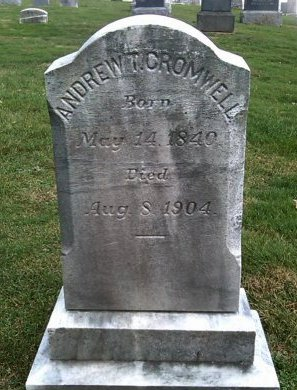 CROMWELL, ANDREW T. - Mercer County, New Jersey | ANDREW T. CROMWELL - New Jersey Gravestone Photos
