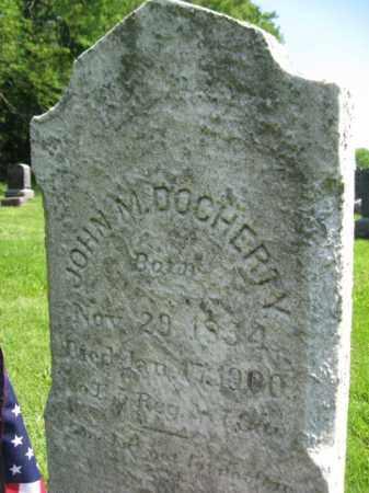 DOCHERTY, JOHN M. - Mercer County, New Jersey | JOHN M. DOCHERTY - New Jersey Gravestone Photos