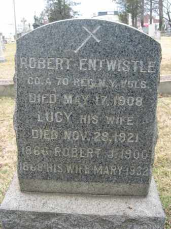 ENTWISTLE, ROBERT - Mercer County, New Jersey   ROBERT ENTWISTLE - New Jersey Gravestone Photos