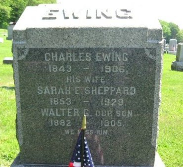 EWING, CHARLES - Mercer County, New Jersey | CHARLES EWING - New Jersey Gravestone Photos