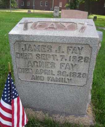 FAY, JAMES J. - Mercer County, New Jersey | JAMES J. FAY - New Jersey Gravestone Photos