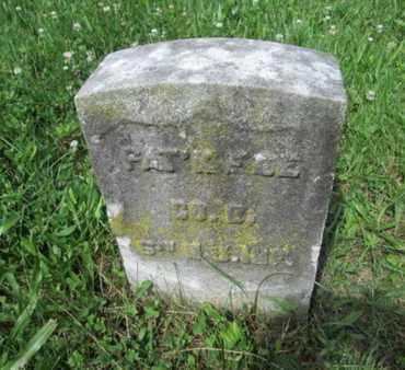 FEE, PATRICK - Mercer County, New Jersey | PATRICK FEE - New Jersey Gravestone Photos