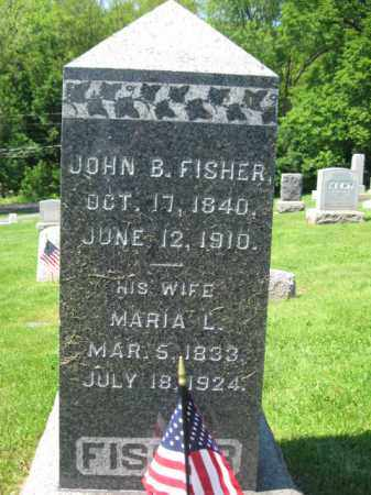 FISHER, JOHN B. - Mercer County, New Jersey | JOHN B. FISHER - New Jersey Gravestone Photos