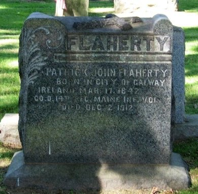 FLAHERTY, PATRICK JOHN - Mercer County, New Jersey | PATRICK JOHN FLAHERTY - New Jersey Gravestone Photos