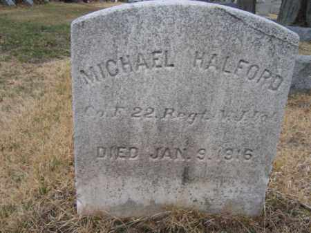 HALFORD, MICHAEL - Mercer County, New Jersey | MICHAEL HALFORD - New Jersey Gravestone Photos