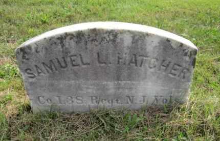 HATCHER, SAMUEL L. - Mercer County, New Jersey | SAMUEL L. HATCHER - New Jersey Gravestone Photos