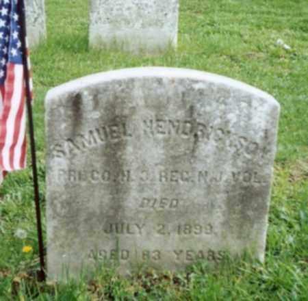 HENDRICKSON, SAMUEL G. - Mercer County, New Jersey | SAMUEL G. HENDRICKSON - New Jersey Gravestone Photos