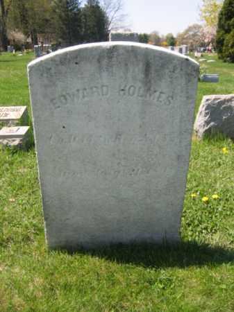 HOLMES, EDWARD - Mercer County, New Jersey | EDWARD HOLMES - New Jersey Gravestone Photos