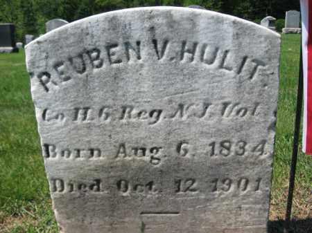 HULIT, REUBEN V. - Mercer County, New Jersey | REUBEN V. HULIT - New Jersey Gravestone Photos