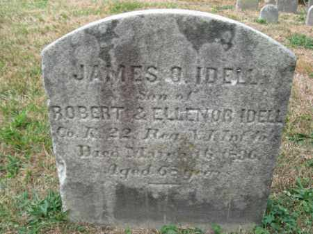 IDELL, JAMES O. - Mercer County, New Jersey | JAMES O. IDELL - New Jersey Gravestone Photos