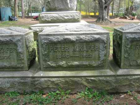 KAFER, PETER M. - Mercer County, New Jersey | PETER M. KAFER - New Jersey Gravestone Photos