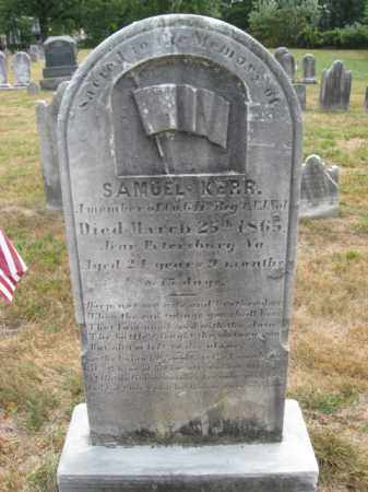 KERR, SAMUEL - Mercer County, New Jersey | SAMUEL KERR - New Jersey Gravestone Photos