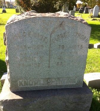 KNOWLES, JONATHAN (JOHN) C. - Mercer County, New Jersey | JONATHAN (JOHN) C. KNOWLES - New Jersey Gravestone Photos