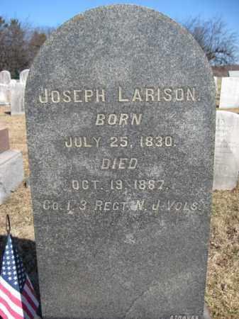 LARISON, JOSEPH - Mercer County, New Jersey | JOSEPH LARISON - New Jersey Gravestone Photos