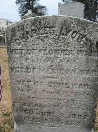 LYONS, CHARLES - Mercer County, New Jersey | CHARLES LYONS - New Jersey Gravestone Photos