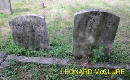 MCCLURE, LEONARD - Mercer County, New Jersey   LEONARD MCCLURE - New Jersey Gravestone Photos