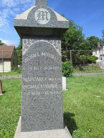 MCDONALD, MICHAEL - Mercer County, New Jersey | MICHAEL MCDONALD - New Jersey Gravestone Photos