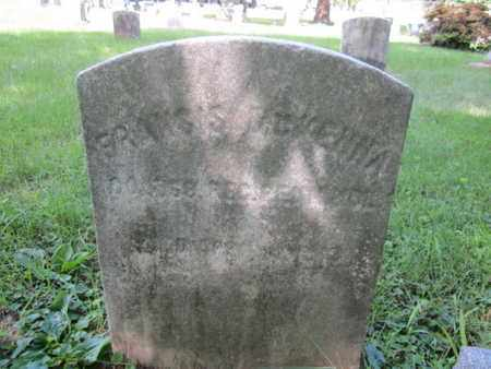 MCKENNA, FRANCIS - Mercer County, New Jersey | FRANCIS MCKENNA - New Jersey Gravestone Photos